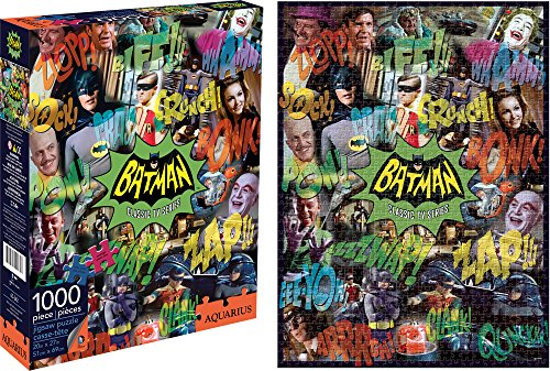 Aquarius Batman 66 Collage 1000 Piece Jigsaw Puzzle