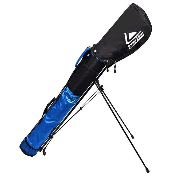 LONGRIDGE Stand Bag Travelite Bolsa de Golf con Caballete 12.7 cm, Unisex