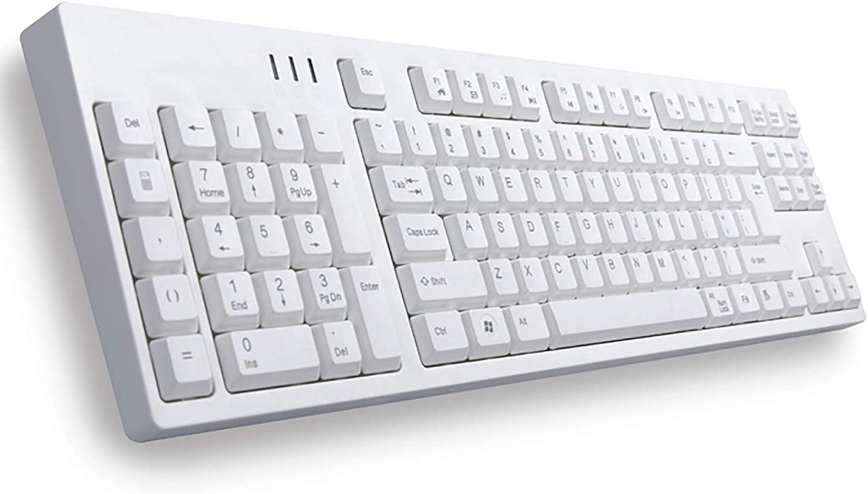 Left Handed teclado mecánico, creativo Wired Teclado numérico ...