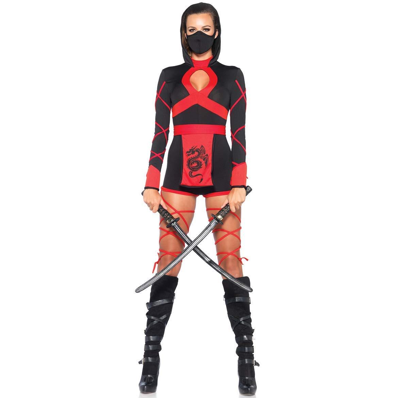 Amazon.com: Cosplay Halloween Female Ninja Naruto Costume ...