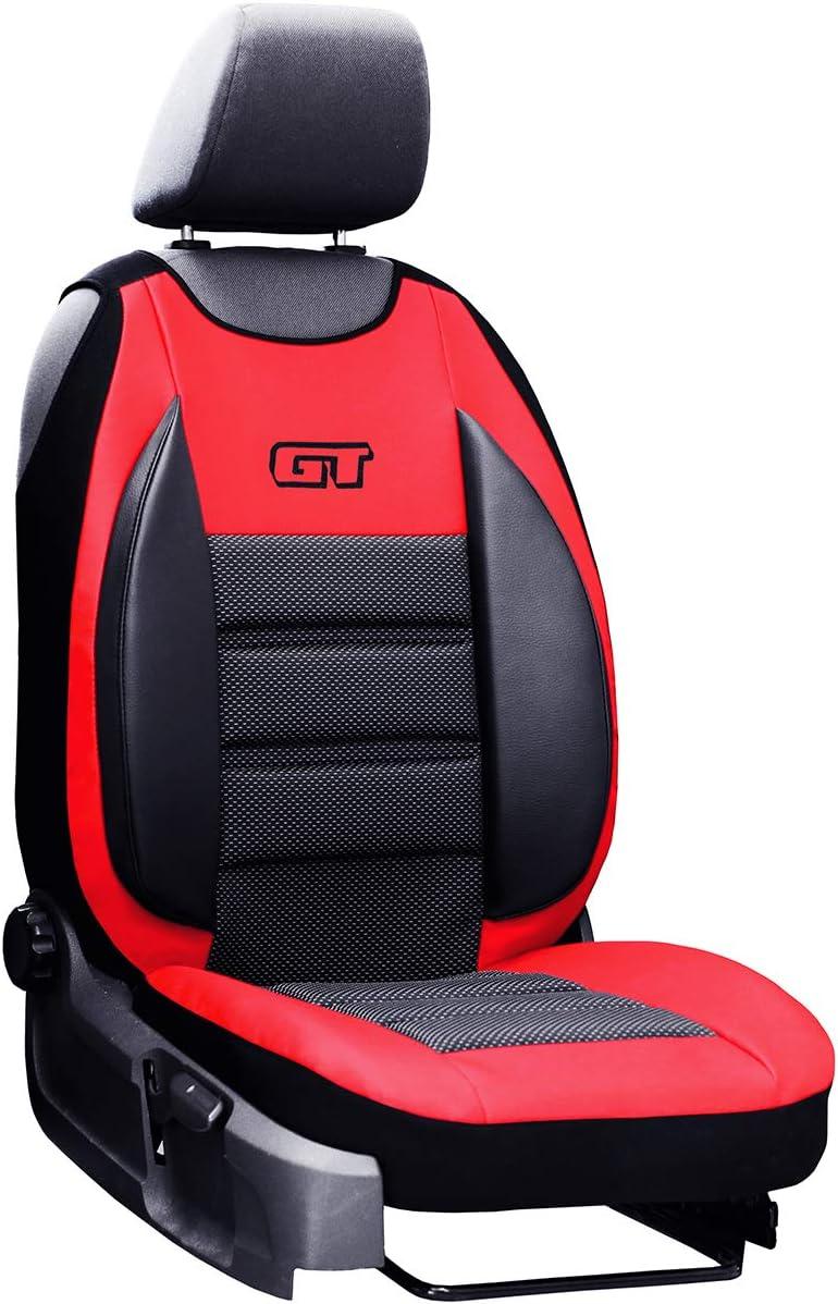 Universelle Sitzabdeckung GT mit Lendenwirbelst/ütze geeignet f/ür Mazda CX-30 GT SCHWARZ