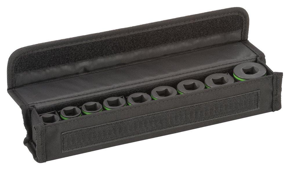 Bosch 2 608 551 096 Pack de 9 Suplementos de Llave de vaso-25 mm (6, 7, 8, 9, 10, 11, 12, 13, 14 mm) 2608551096