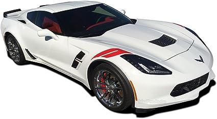 Grand Sport Hash Marks 2014-2019 Corvette C7 Stingray Gloss Black