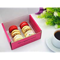 The birthday cake macaron collection (6 Pack) | Freshly baked daily, perfect for birthday party, Halloween, Thanksgiving…