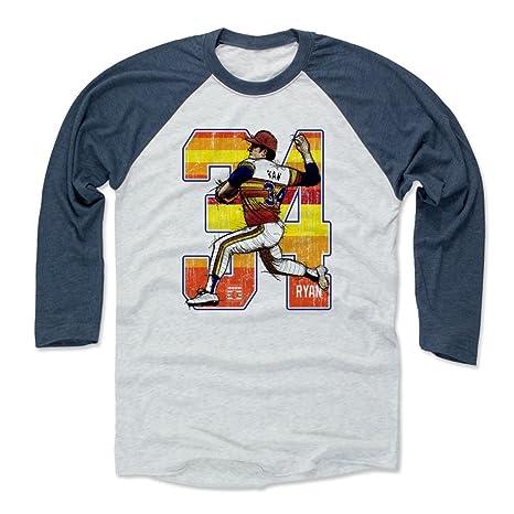 aa02db22b25 Amazon.com   500 LEVEL Nolan Ryan Shirt - Vintage Houston Baseball ...