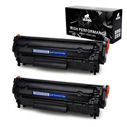 Amazon Com Ikong 12a Toner Compatible Toner Cartridge Replacement
