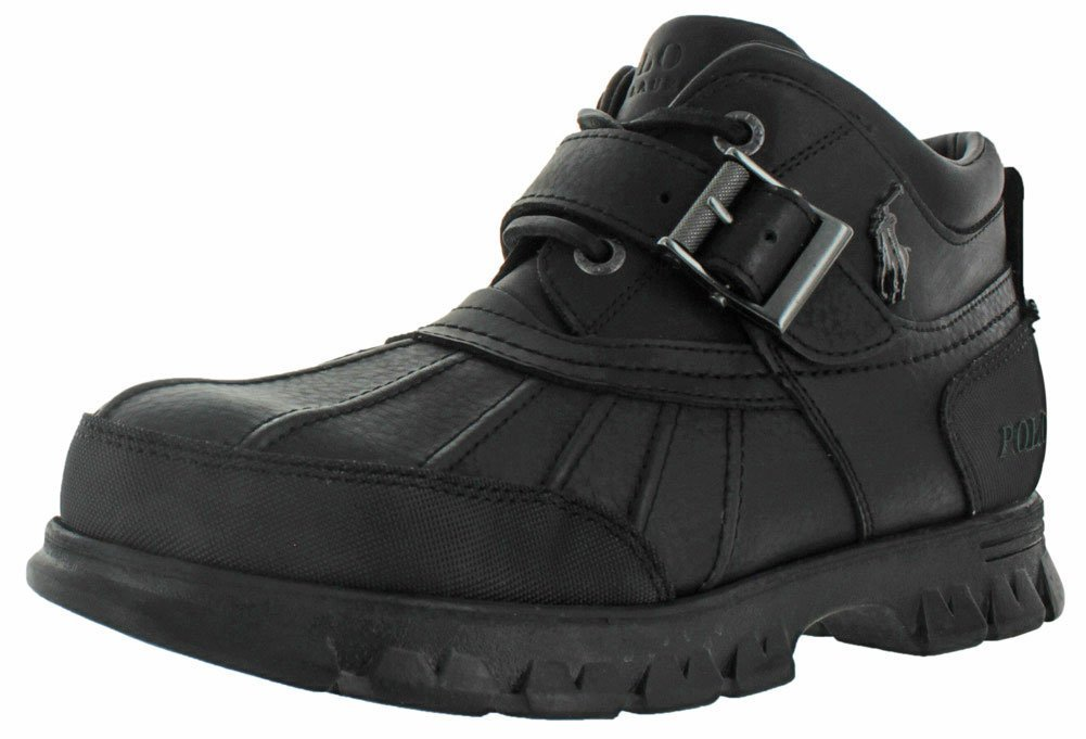 Ralph Lauren Polo Dover III Men's Rugged Duck Boots Black Size 7