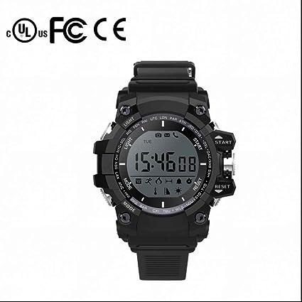 2a88b0b5912c Reloj Deportivo Intelligent fitness tracker con Alarma y Cronómetro Contador  de caloría Monitor de Calorías y