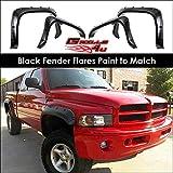 99 dodge ram fender flares - Offroader Pocket Style Fender Flares For 1994-2001 Dodge Ram