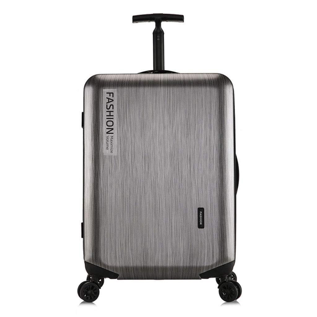 新しいトロリーケース、ファッションPCのユニバーサルホイールのパスワードスーツケース、旅行ビジネス20インチのビジネス搭乗 (Color : Dark gray, Size : 22 inch)   B07R7MY7V4