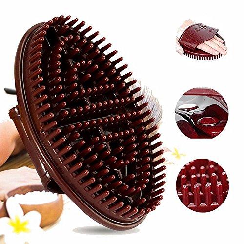 Massage brush five elements meridian brush slimming Treatment massage brush silicone gel brush oil brush for body loss (Elements Brush)
