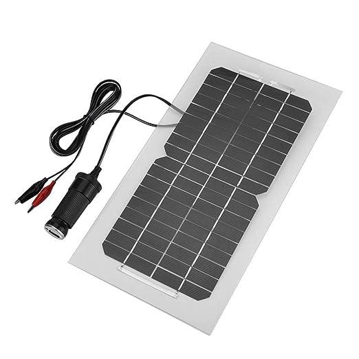 koulate Cargador USB monocristalino del Panel Solar ...