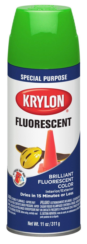 Krylon 3106 Aerosol Paint, 11 oz, Green, Pack of 1