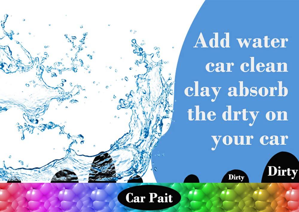 Car Clay Bar, 4 Pack 100g SSZY Powerful Type Car Auto Detailing Tools, Car Cleaning Kit, Car Cleaning Supplies Car Wash Equipment, Car Wash Magic Clay Bar Cleaner