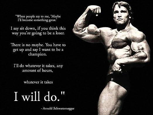 Amazon Com Remarkable Poster S Arnold Schwarzenegger