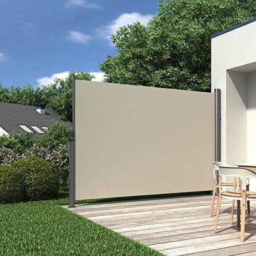 SONGMICS 180 x 300 cm Toldo lateral para balcón y terraza ...