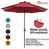 Abba Patio 9 Ft Fade Resistant Sunbrella Patio