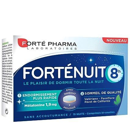 Forté Nuit 8h 15 comprimés Forté Pharma