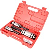 """Newsmarts Exhaust Pipe Expander, 3pcs 1-1/18"""" to 3-1/2"""" Tail Pipe Exhaust Muffler Spreader Tool"""