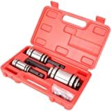 Newsmarts Exhaust Pipe Expander, 3pcs 1-1/18' to 3-1/2' Tail Pipe Exhaust Muffler Spreader Tool