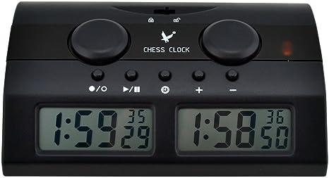 Ckeyin ® Reloj digital para jugar al ajedrez   Temporizador para ...