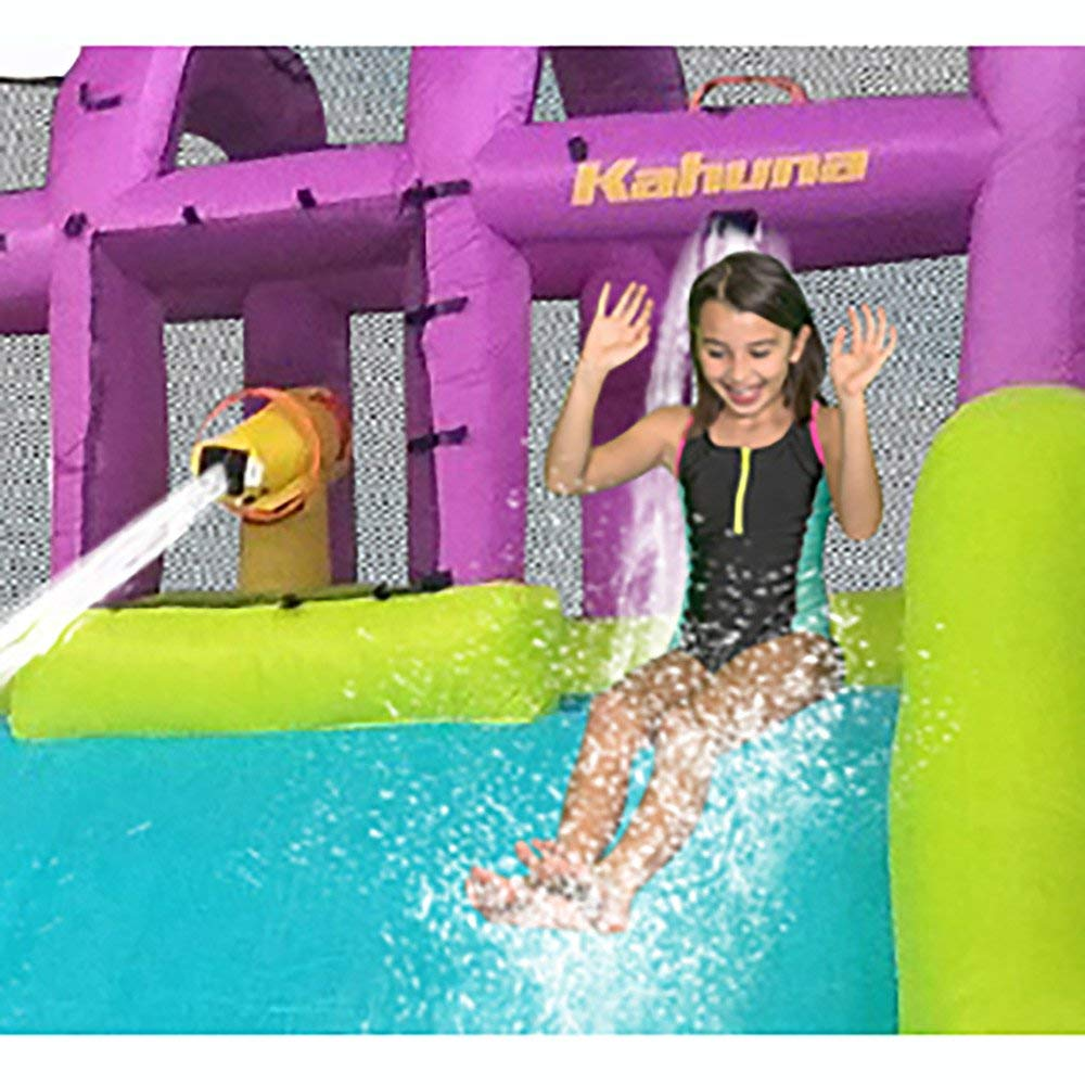 Kahuna Mega Blast Inflatable Backyard Kiddie Pool and Slide Water Park by Kahuna (Image #8)