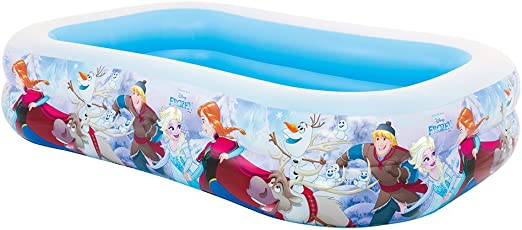 Intex Frozen Piscina Hinchable, 120 Litros, Multicolor, 262x175x56 cm
