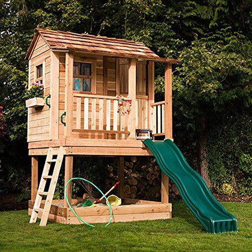 Little Cedar 6 x 6 Playhouse by Outdoor Living Today