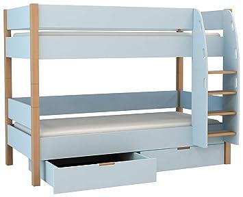 Etagenbett Skandinavisch : Xxl colorland etagenbett mit bettkasten stockbett
