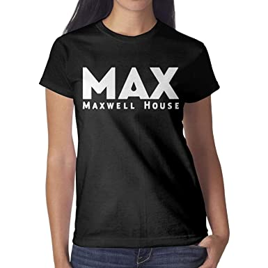 eca5e5b6 Image Unavailable. Image not available for. Color: Fisesxx Awesome Womens  Best-Maxwell-Funny-House-Patch-Short Folk T