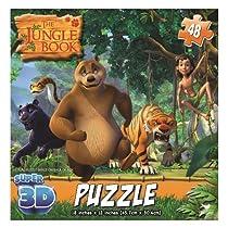 Jungle Book Super 3D Puzzles by Cardinal