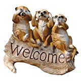 Cheap Design Toscano The Meerkat Menagerie Welcome Statue
