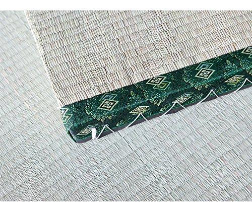 Vivere Zen - Tatami Bordo Verde Decorato (90x200cm) - alti 5, 5 cm Misure 90x200 cm