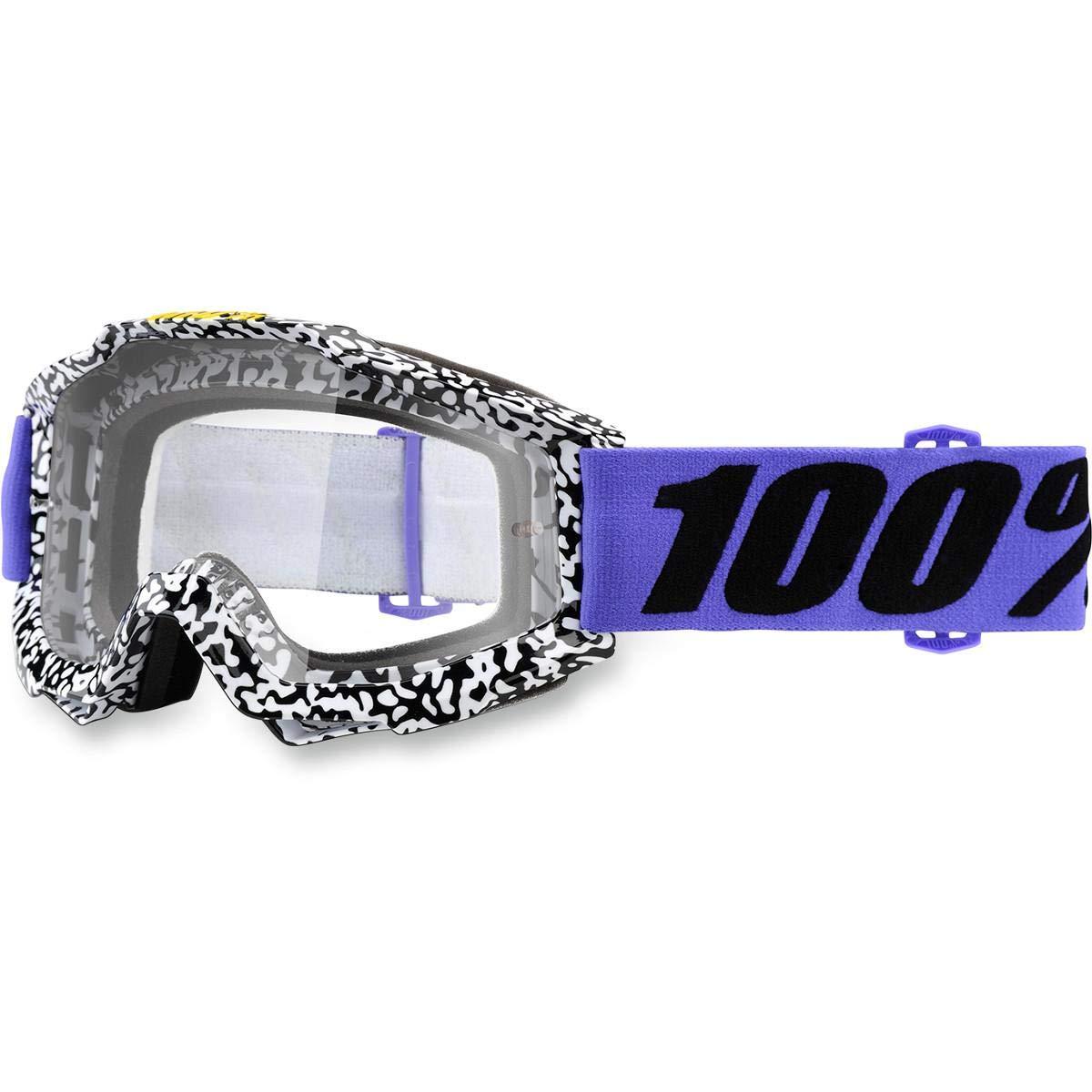 Inconnu 100% acccuri máscara de Bicicleta de montaña Unisex, Color Morado 100AC|#100% 50200-211-02