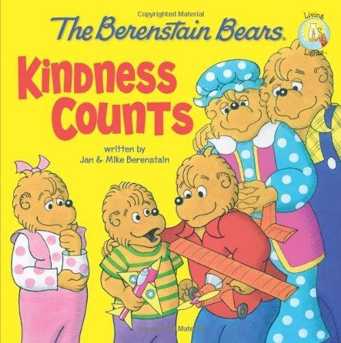 By Jan BerenstainThe Berenstain Bears: Kindness Counts (Berenstain Bears/Living Lights)[Paperback] August 7, 2010