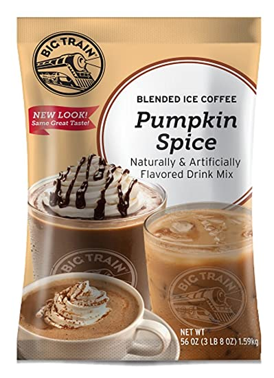 Big Train Blended Ice Coffee, Pumpkin Spice, 3.5 Pound, Powdered Instant Coffee Drink