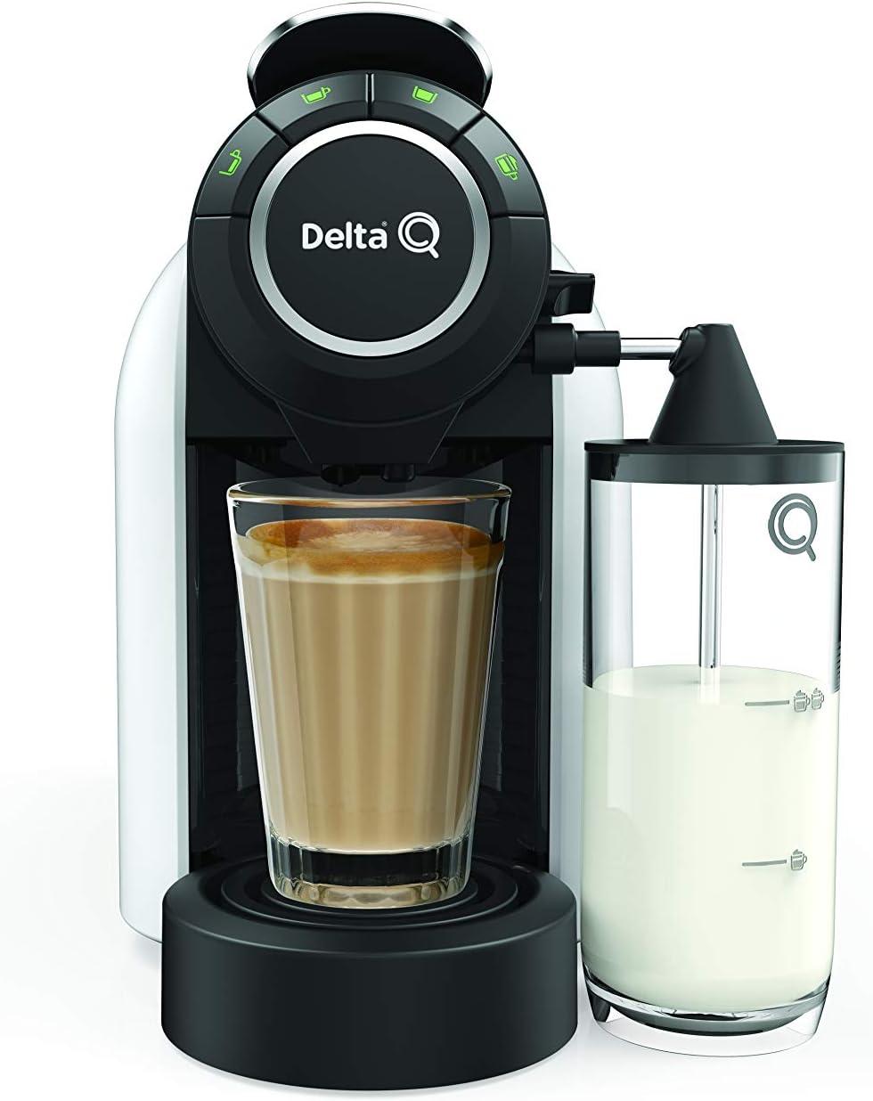 Delta Q milkqool Delta Q cafetera cápsula blanco 1200 W: Amazon.es ...