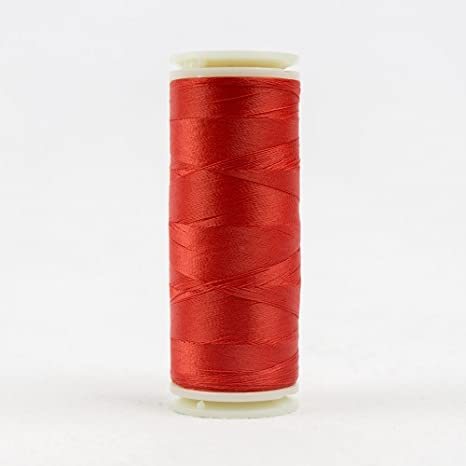 InvisaFil Silk-Like Thread for Fine Sewing WonderFil 400m 100wt Blue Grey 2-Ply Cottonized Soft Polyester Specialty Threads