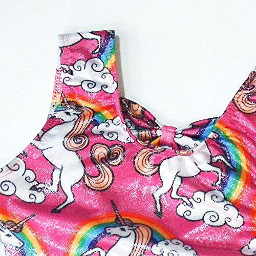 0e2cf2d23d63 Girls Gymnastics Clothes Unicorn Leotards for Toddler 3t 4t ...