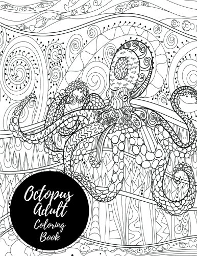 Octopus Adult Coloring Book