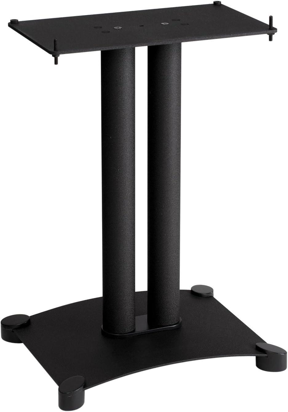 Sanus SFC22-B1 Steel Series 22 Speaker Stand for Center Channel Speakers Black