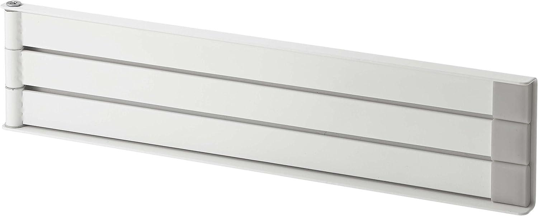 YAMAZAKI home Plate Magnetic Dish Towel Hanger, White