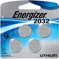 4-Pack Energizer 2032BP-4 3V Lithium Coin Battery