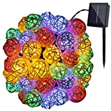 Amazon Price History for:GDEALER Solar String Lights 30LED 20ft Solar Powered Starry Fairy Outdoor String Lights Ambiance Lighting for Landscape Patio Garden Bedroom Camping Christmas Party Wedding (1)