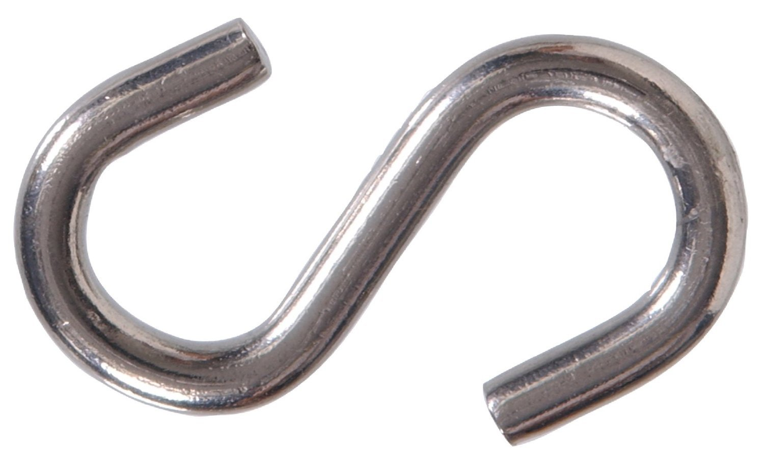 The Hillman Group The Hillman Group 4291 S Hook Stainless Steel 1-1/2 In. (2 Packs of 15)
