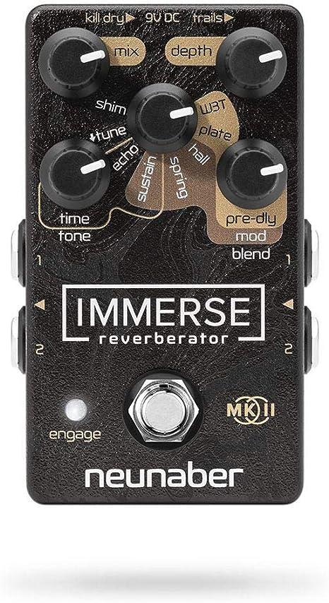 Neunaber Immerse MK II Reverberator · Pedal guitarra eléctrica ...