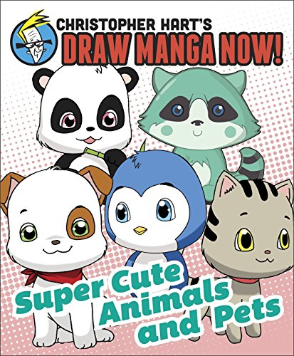 d Pets: Christopher Hart's Draw Manga Now! (Spiral Draw Book)