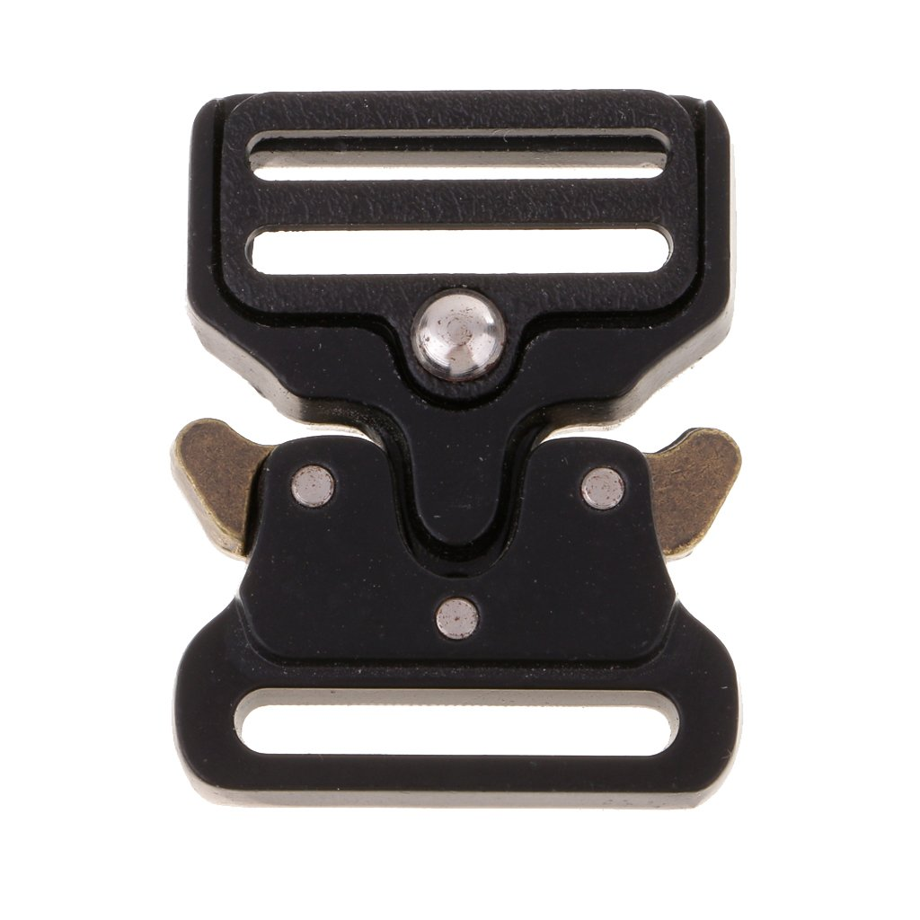 Dovewill Side Release Metal Buckle for 25//32//38//45mm Straps Webbing DIY Belts Bags Clothes 32mm