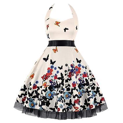 2312e51ce7 Amazon.com  WILLTOO❤ ❤ Women s Vintage Dress