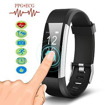 Hangang Smartwatch Pulsera Inteligente muñequera id115plus ...